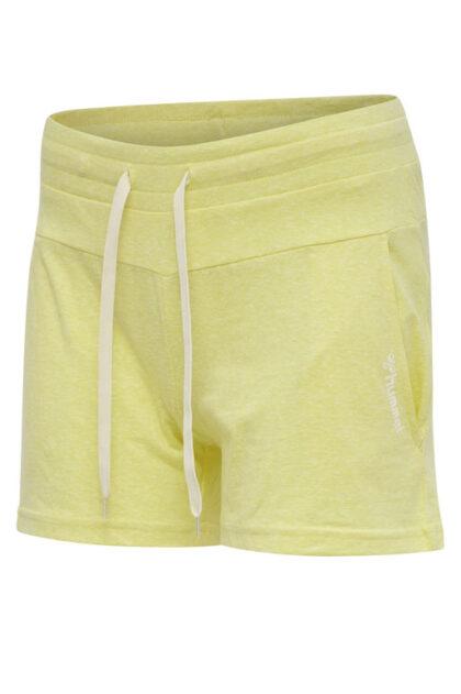Zandra shorts 3tshop hummel gul loungewear dame