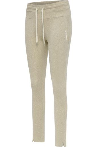 Zandra Regular Pants 3tshop hummel beige joggebukse loungewear dame