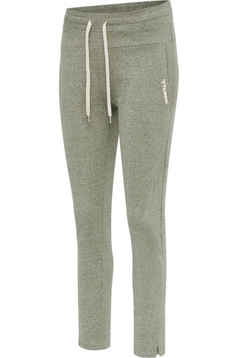 Zandra Regular Pants 3tshop hummel grønn joggebukse loungewear dame