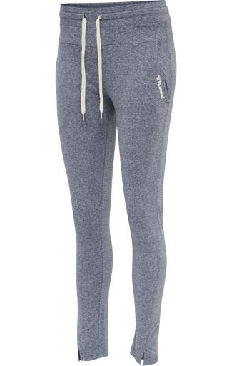 3tshop hummel Zandra Regular Pants blå joggebukse dame loungewear