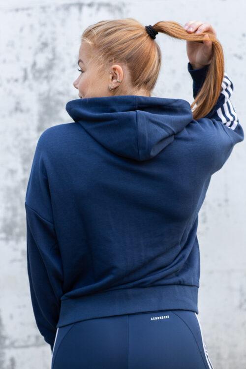 adidas Essentials Cut 3-Stripes Full-Zip Hoodie-40975