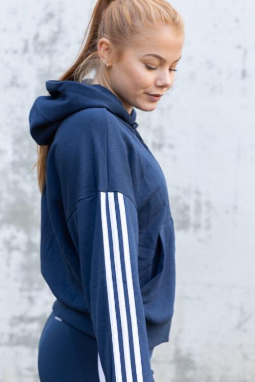 adidas Essentials Cut 3-Stripes Full-Zip Hoodie-40974