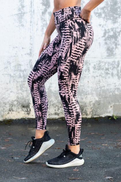 Iconic Printed 7/8 Tights-38860
