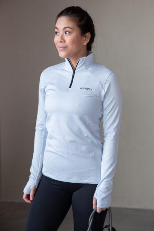 adidas 3Tshop.no Terrex Everyhike Half-Zip Fleece Jacket løpegenser trening dame