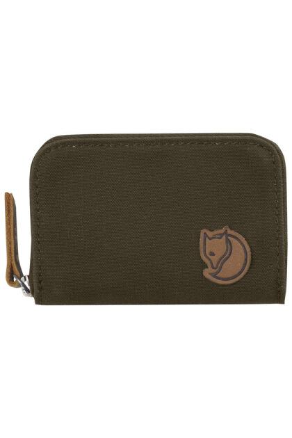 Zip Card Holder - Dark Olive-39532