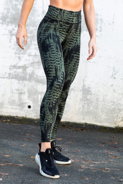 Iconic Printed 7/8 Tights-36972