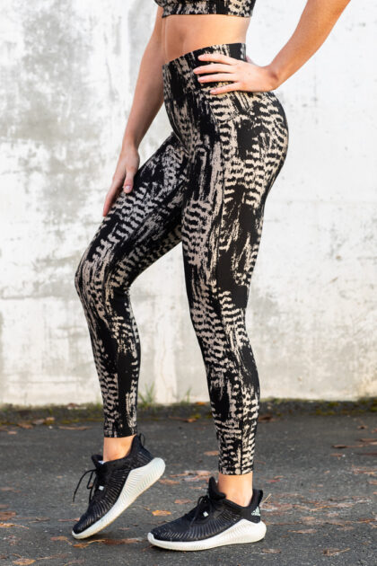 Iconic Printed 7/8 Tights-36968