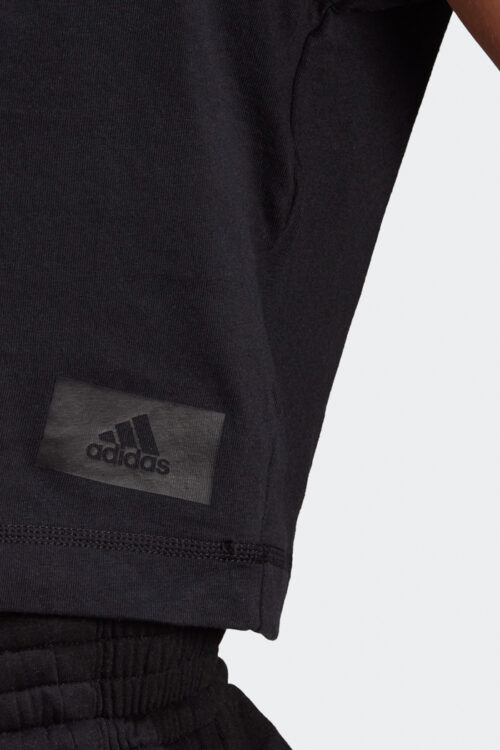 adidas Sportswear Recycled Cotton Crop Top-37800