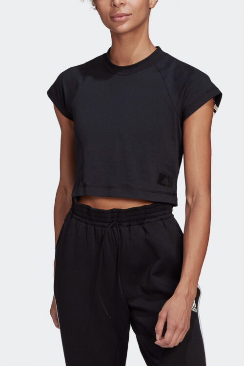 adidas Sportswear Recycled Cotton Crop Top-37793