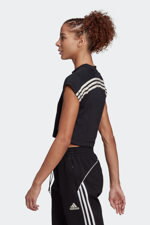 adidas Sportswear Recycled Cotton Crop Top-37794