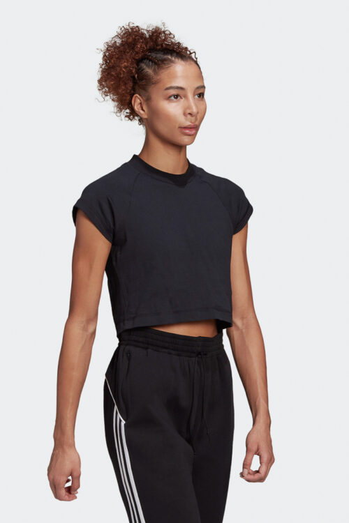 adidas Sportswear Recycled Cotton Crop Top-37796
