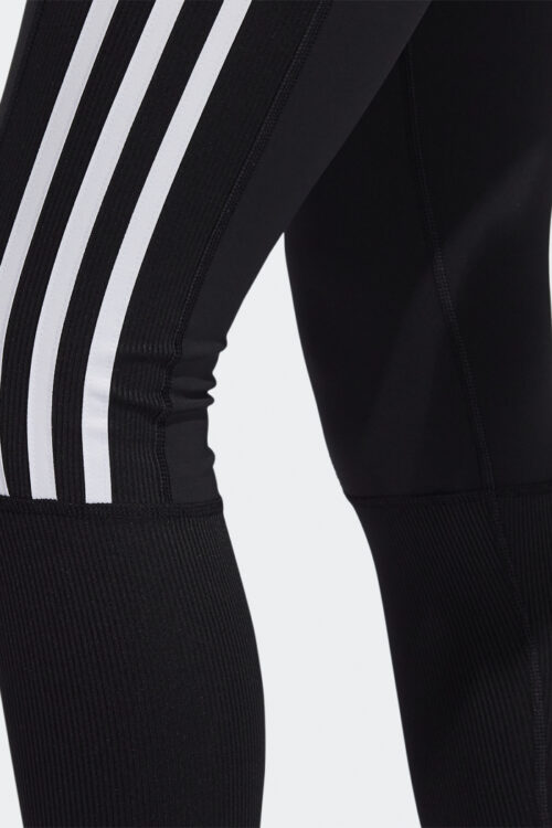 Believe This 2.0 3-Stripes Ribbed 7/8 Tights-37125