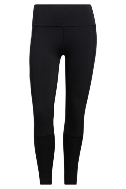 Believe This 2.0 3-Stripes Ribbed 7/8 Tights-37130
