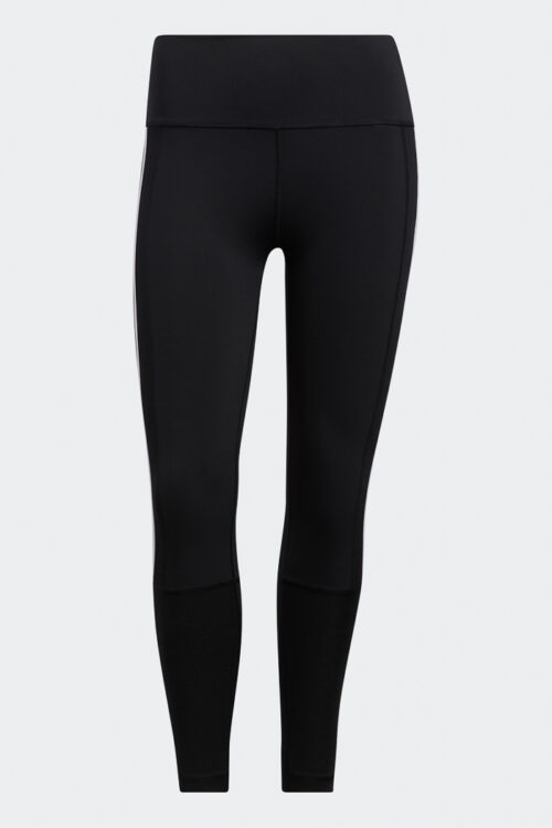 Believe This 2.0 3-Stripes Ribbed 7/8 Tights-37128