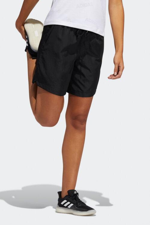 Woven Long-Length Shorts-37859