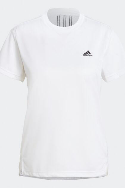 3tshop.no adidas AEROREADY Designed 2 Move 3-Stripes Sport Tee