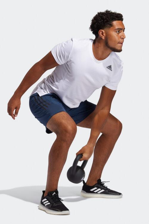 AEROREADY 3-Stripes Slim Shorts-37182