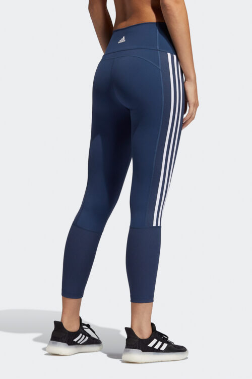 Believe This 2.0 3-Stripes Ribbed 7/8 Tights-37943