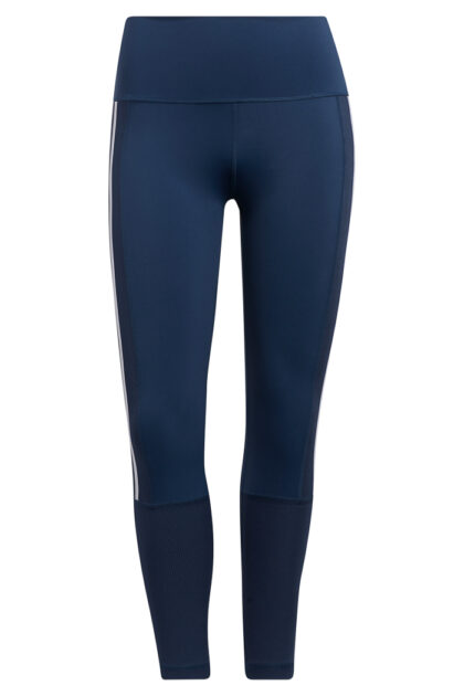 Believe This 2.0 3-Stripes Ribbed 7/8 Tights-37945