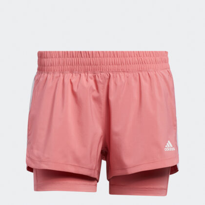 Pacer 3-Stripes Woven Two-in-One Shorts
