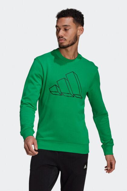 adidas Sportswear Graphic Crew Sweatshirt-37174