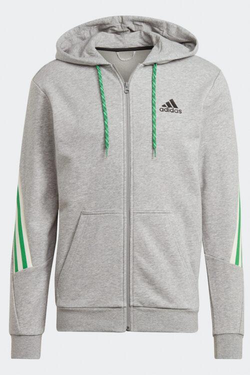 adidas Sportswear 3-Stripes Tape Full-Zip Sweatshirt-37217