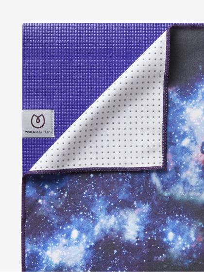 Yogamatters Grippy Yoga Mat Towel-Night Sky