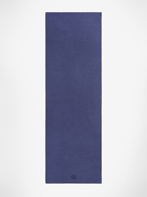 Yogamatters The Grippy Yoga Mat Towel-Navy Blue