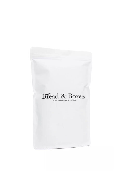 bread and boxers brief grey men package