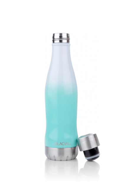 Glacial Stainless Steel Bottle Buble Mint 400ml