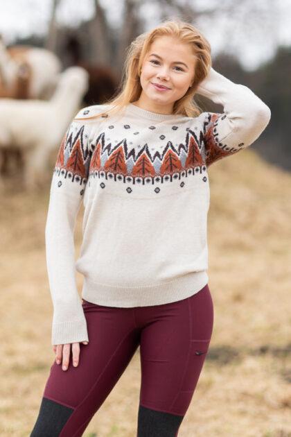 Helly Hansen W Wool Knit Sweater