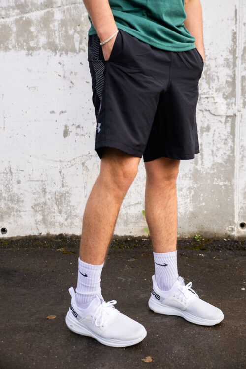 Woven Graphic Shorts-33917