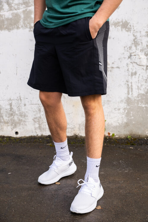 Woven Graphic Shorts-33918