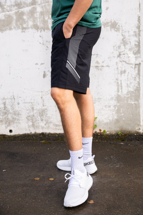 Woven Graphic Shorts-33914
