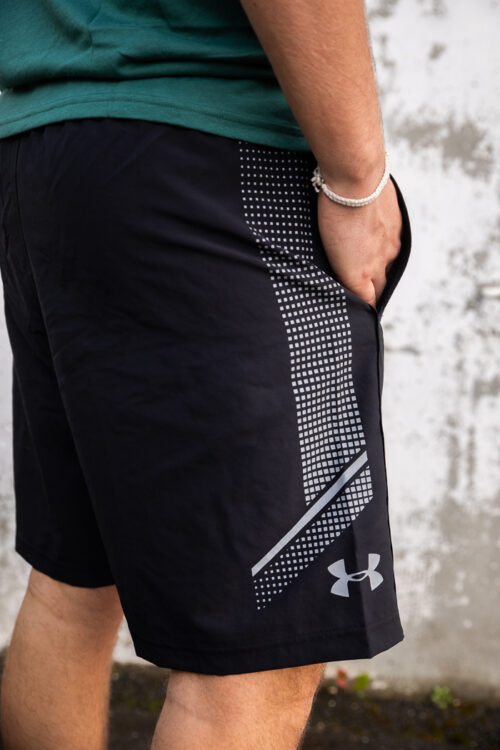 Woven Graphic Shorts-33915