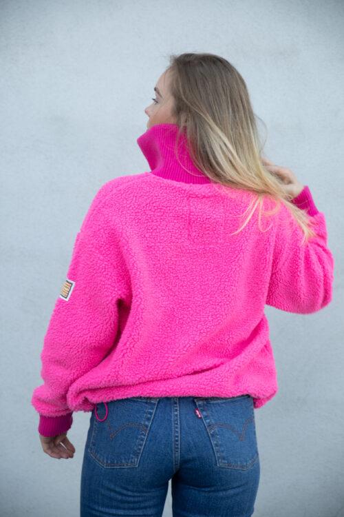 Svea Kathryn Pile Zip Sweater