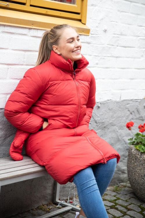 Elina Jacket Red-21991
