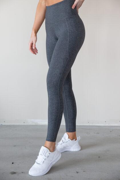 Lux High-Rise Tights 2.0 grå grey tights trening
