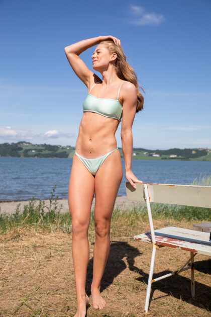 Shiny Bikini Bandeau