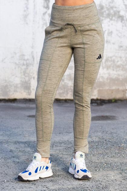 High-Waisted Slim Pants-27742