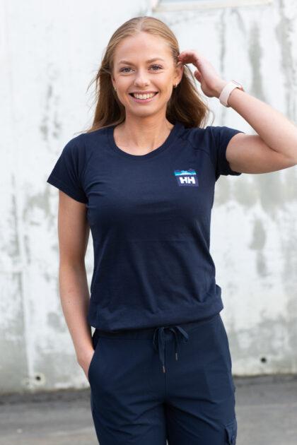 Helly Hansen-W Nord Graphic Drop T-Shirt