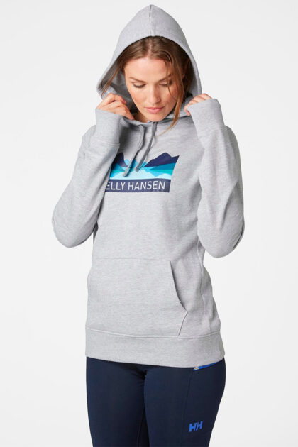 Helly Hansen-W Nord Graphic Pull Over Hoodi