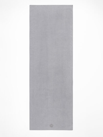 Yogamatters The Grippy Yoga Mat Towel-Cool Grey