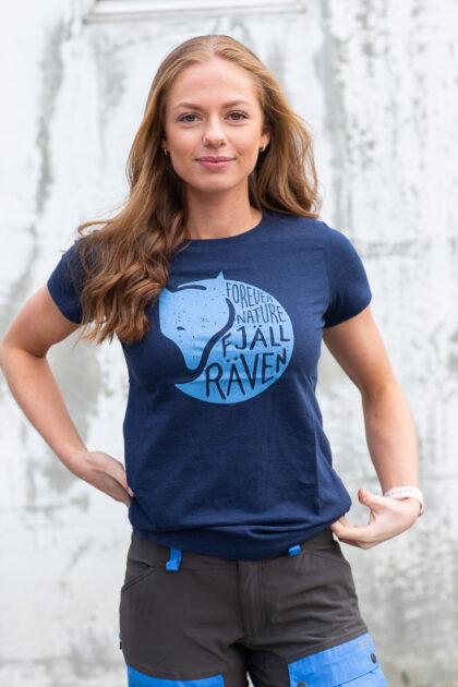 F89958-560 Fjällräven Forever Nature T-shirt Women 3Tshop.no