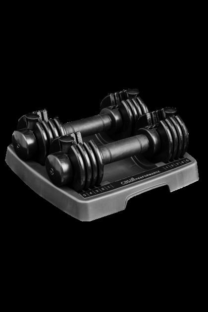 Casall PRF Adjustable dumbbells 2x5kg