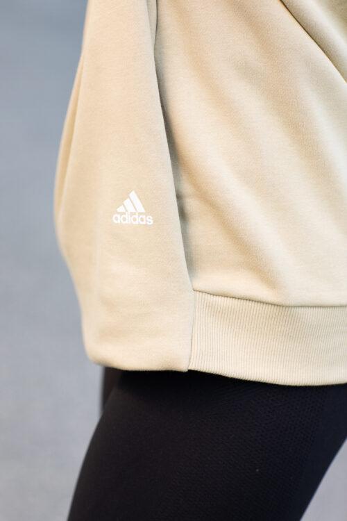 adidas 3-Stripes Wording Crew Genser 3Tshop.no