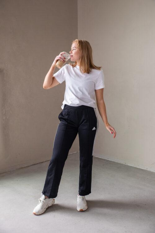 adidas New Authentic Wide Leg Bukse joggebukse 3tshop dame