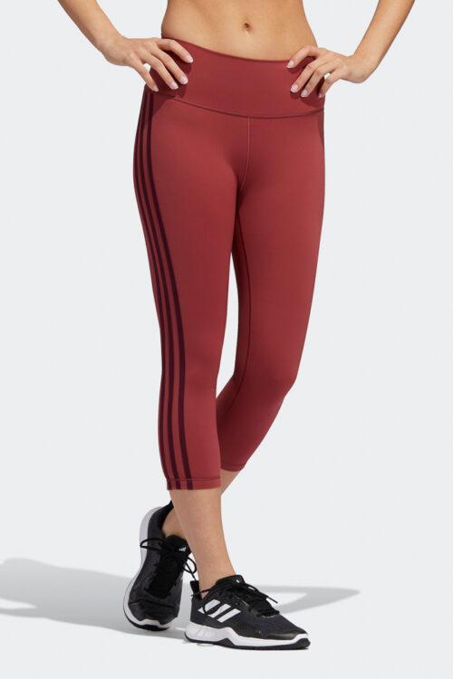 adidas Believe This 2.0 3-Stripes 3/4 Tights 3Tshop.no