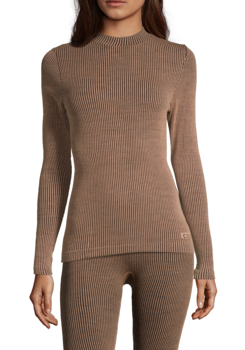Casall Wool Rib Long Sleeve