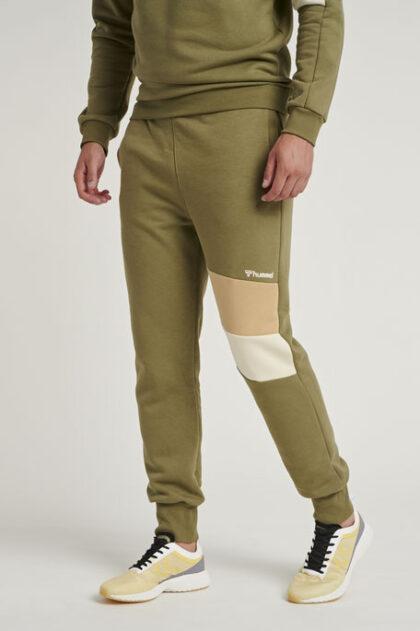 Hummel Aidan Regular Pants 3Tshop.no green grønn kosebukse koseklær joggebukse treningsbukse herre